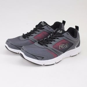 14a3caae11d6 Fila Shoes - FILA Vector Grey   Red Running Shoes    Size 9